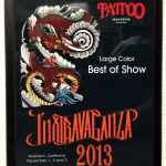 Tattoo Magazine Inxtravaganza 2013 Anaheim, CA-  Best Large Color of show