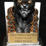 Tattoo Hollywood 2010- 1st place Best Overall Female