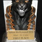 Tattoo Hollywood 2010- 1st place Best Male XL Color