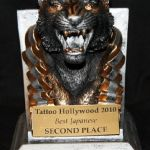 Tattoo Hollywood 2010- 2nd place Best Japanese