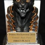 Tattoo Hollywood 2010- 1st place Female Back Piece