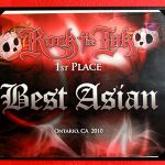 Rock the Ink Ontario 2010- 1st place Best Asian