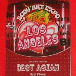Body Art Expo LA Oct 2009- 3rd place Best Asian