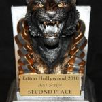Tattoo Hollywood 2010- 2nd place Best Script