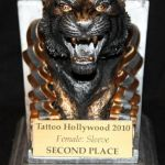 Tattoo Hollywood 2010- 2nd place Female Sleeve