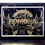January 2013 Pomona Tattoo Expo 1st Place Best Back
