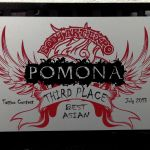 Pomona Body Art Tattoo Convention July 2013- 3rd Place Best Asian