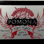 Pomona Body Art Tattoo Convention July 2013- 1st Place Best Large Black and Grey