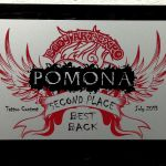 Pomona Body Art Tattoo Convention July 2013- 2nd Place Best Back