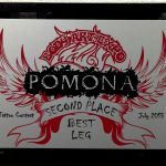 Pomona Body Art Tattoo Convention July 2013- 2nd Place Best Leg