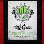 Ink For a Cause Ventura 2011- 1st Place Large Black and Grey